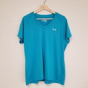 Under Armour | Bright Blue Semi-Fitted Tee
